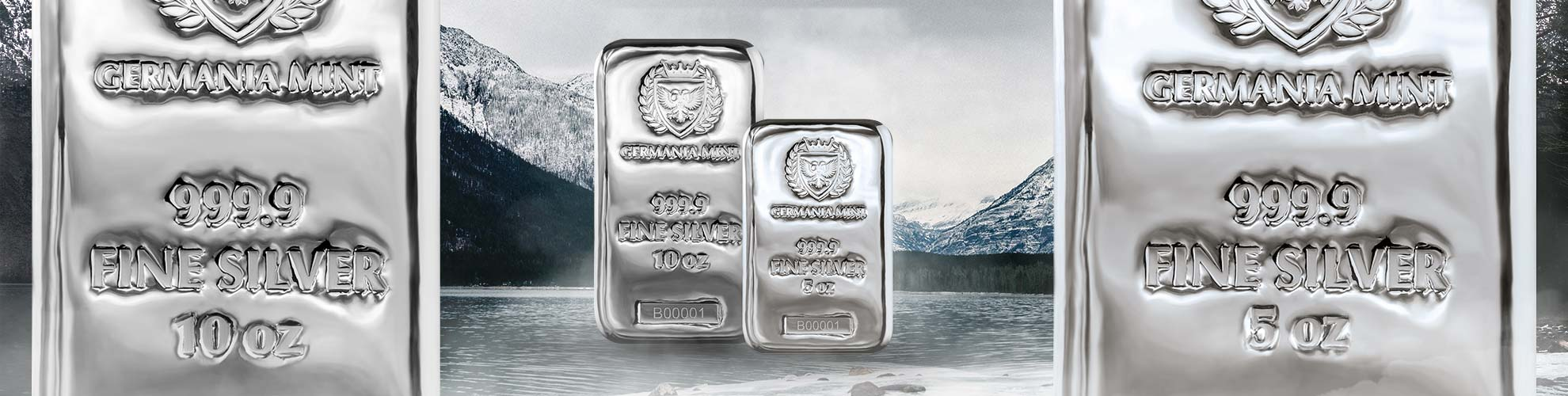 Germania Mint Silver Bars
