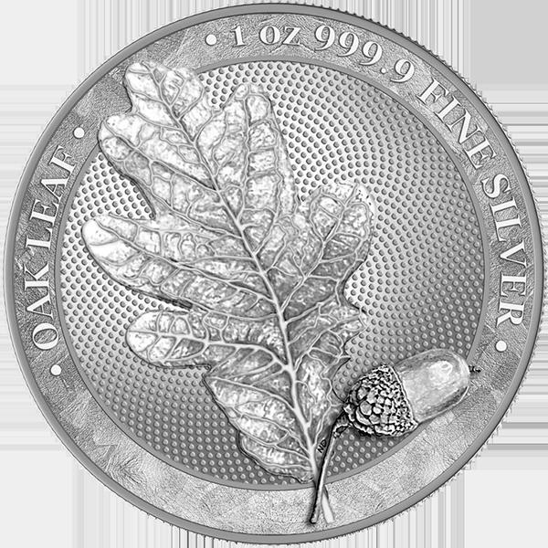 Germania 2019 silver coin Averse