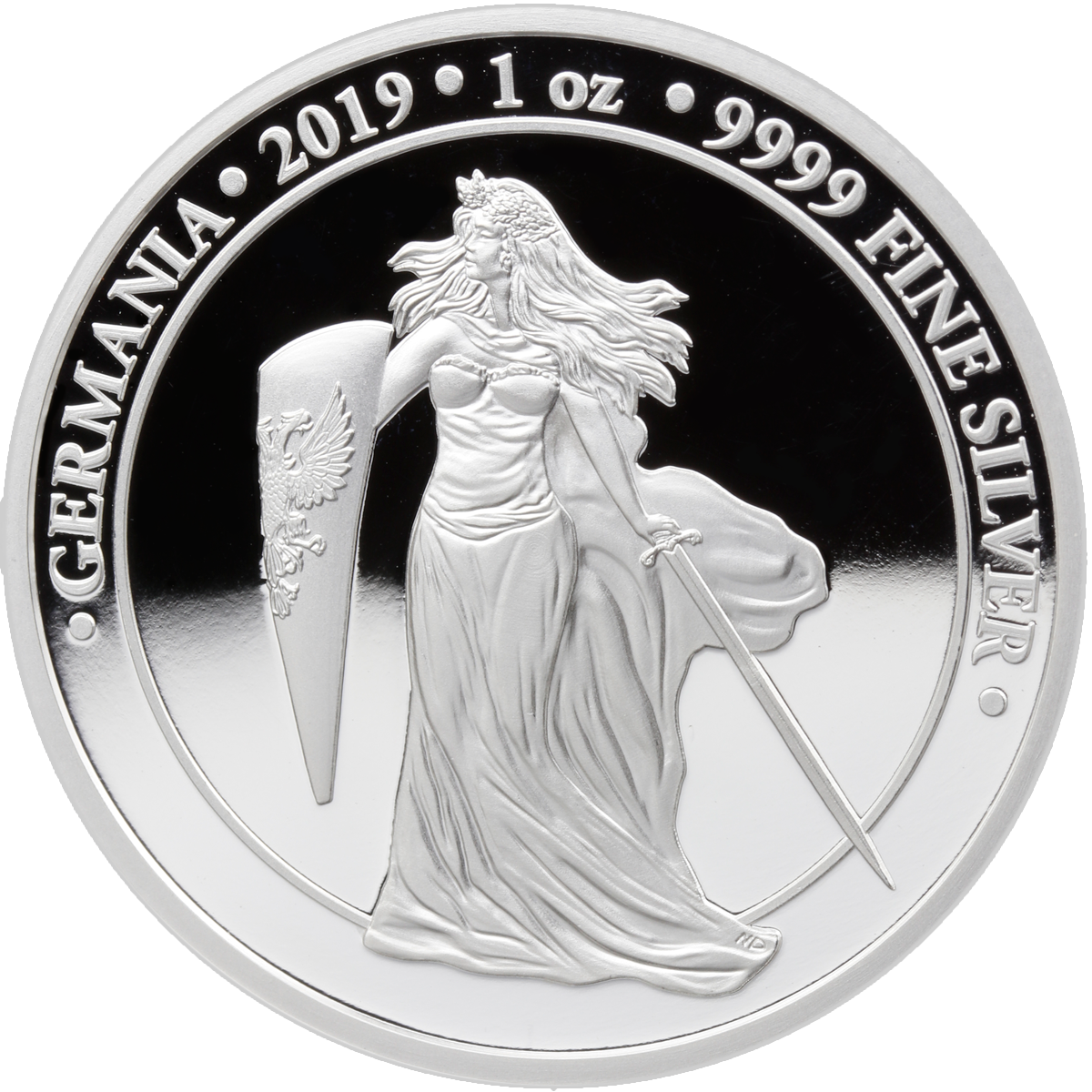 2019 Germania 1 oz Silver Proof