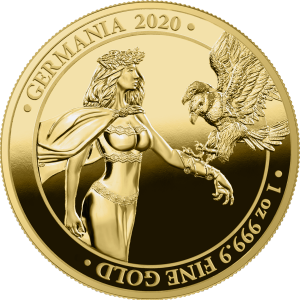 germania 2020 1 oz gold proof