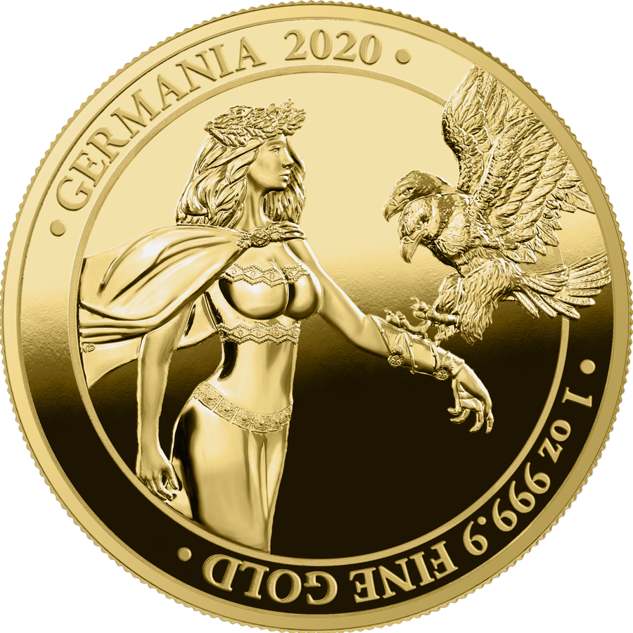 2020 Germania 1 oz Gold Proof