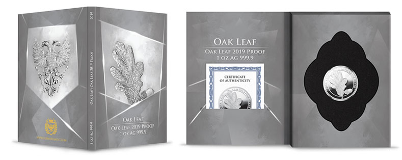 oak leaf blisterpack package